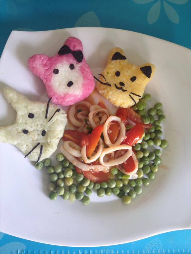 Học lỏm mẹ Việt cách trang trí món ăn dặm cho con đầy màu sắc - Ảnh 22.