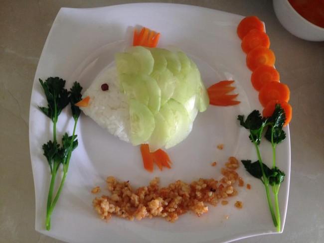 Học lỏm mẹ Việt cách trang trí món ăn dặm cho con đầy màu sắc - Ảnh 24.