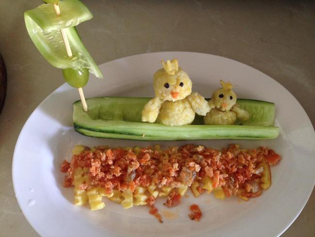 Học lỏm mẹ Việt cách trang trí món ăn dặm cho con đầy màu sắc - Ảnh 27.