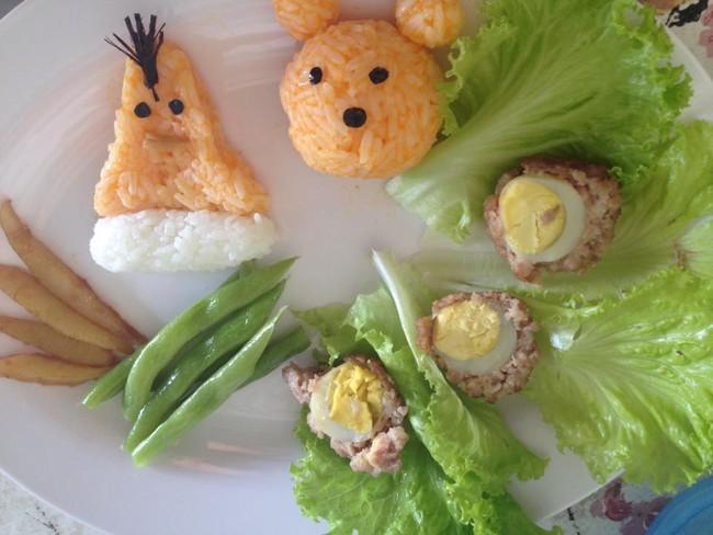 Học lỏm mẹ Việt cách trang trí món ăn dặm cho con đầy màu sắc - Ảnh 28.
