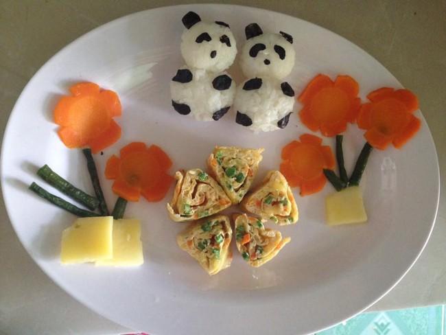 Học lỏm mẹ Việt cách trang trí món ăn dặm cho con đầy màu sắc - Ảnh 29.