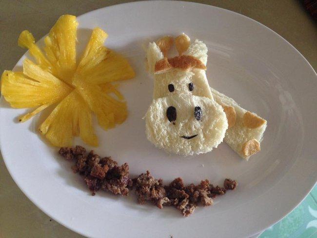Học lỏm mẹ Việt cách trang trí món ăn dặm cho con đầy màu sắc - Ảnh 32.