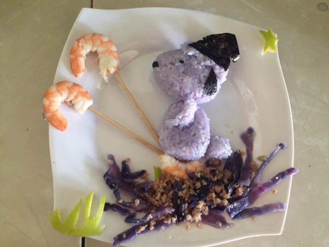 Học lỏm mẹ Việt cách trang trí món ăn dặm cho con đầy màu sắc - Ảnh 36.