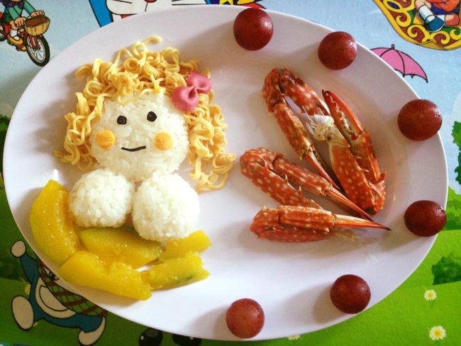 Học lỏm mẹ Việt cách trang trí món ăn dặm cho con đầy màu sắc - Ảnh 38.