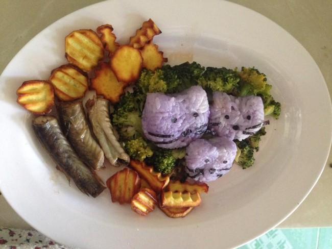 Học lỏm mẹ Việt cách trang trí món ăn dặm cho con đầy màu sắc - Ảnh 41.