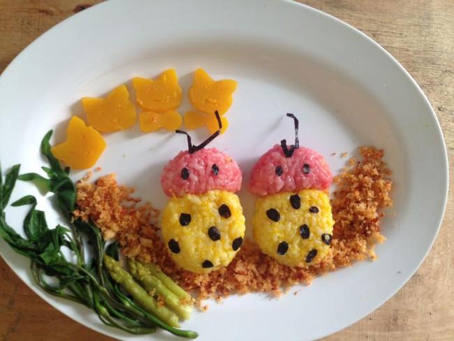 Học lỏm mẹ Việt cách trang trí món ăn dặm cho con đầy màu sắc - Ảnh 42.