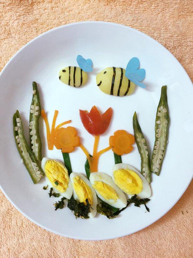 Học lỏm mẹ Việt cách trang trí món ăn dặm cho con đầy màu sắc - Ảnh 43.