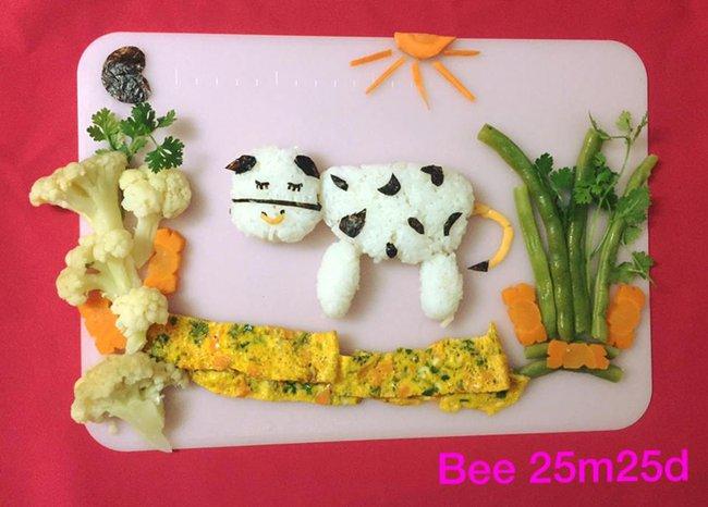 Học lỏm mẹ Việt cách trang trí món ăn dặm cho con đầy màu sắc - Ảnh 44.