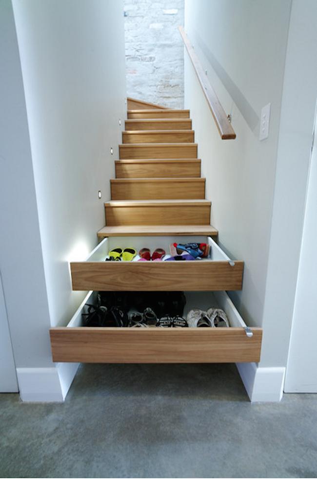 4 mẫu thiết kế cầu thang độc đáo chắc chắn bạn chưa từng được thấy - Ảnh 2.