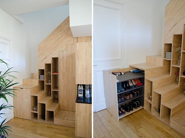 4 mẫu thiết kế cầu thang độc đáo chắc chắn bạn chưa từng được thấy - Ảnh 6.