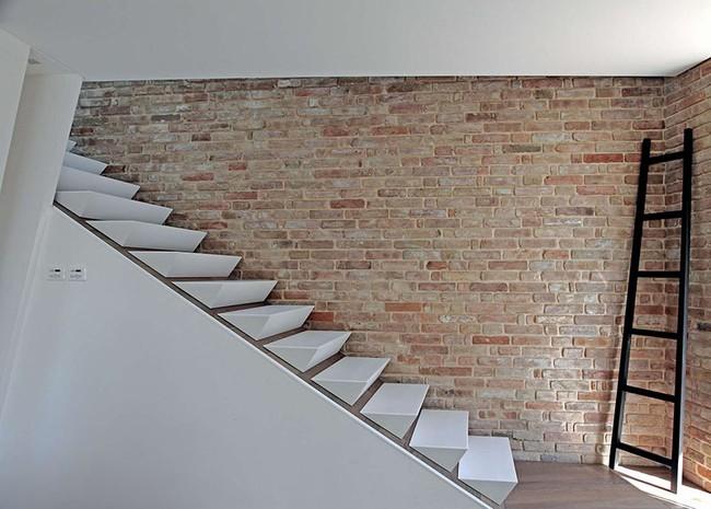 4 mẫu thiết kế cầu thang độc đáo chắc chắn bạn chưa từng được thấy - Ảnh 9.