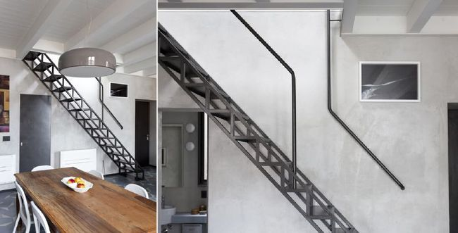 4 mẫu thiết kế cầu thang độc đáo chắc chắn bạn chưa từng được thấy - Ảnh 10.