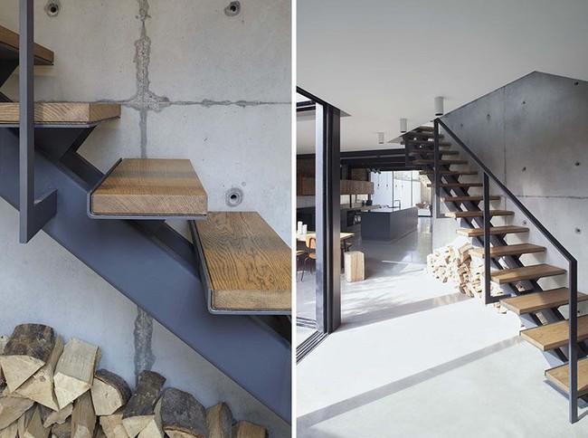 4 mẫu thiết kế cầu thang độc đáo chắc chắn bạn chưa từng được thấy - Ảnh 11.