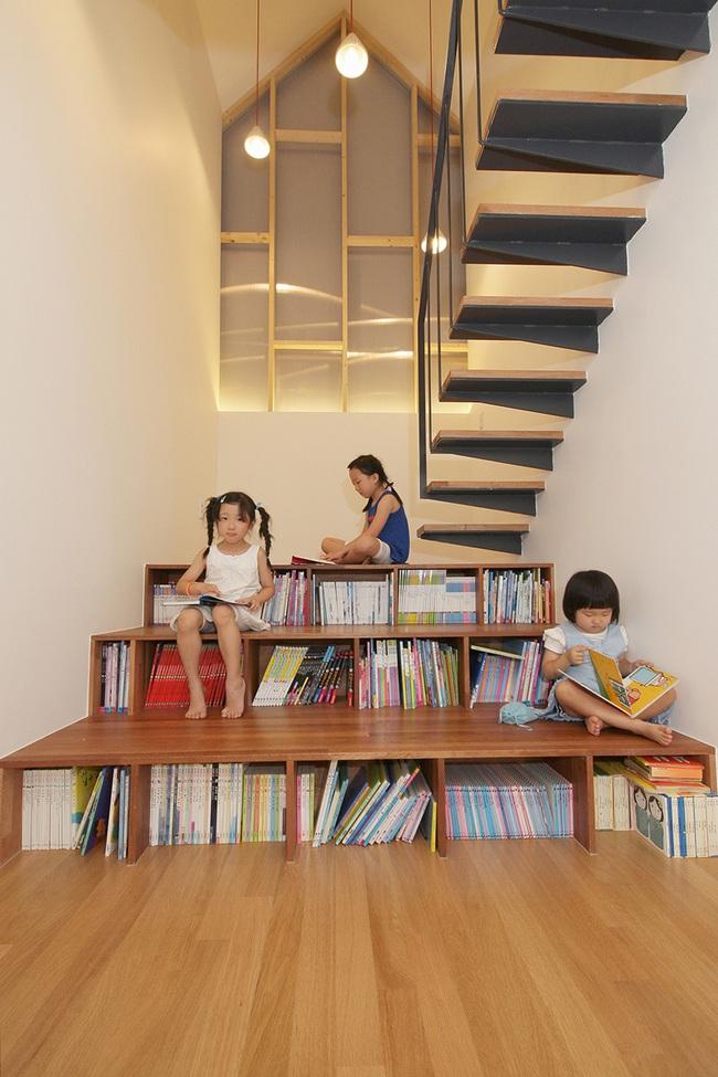 4 mẫu thiết kế cầu thang độc đáo chắc chắn bạn chưa từng được thấy - Ảnh 13.