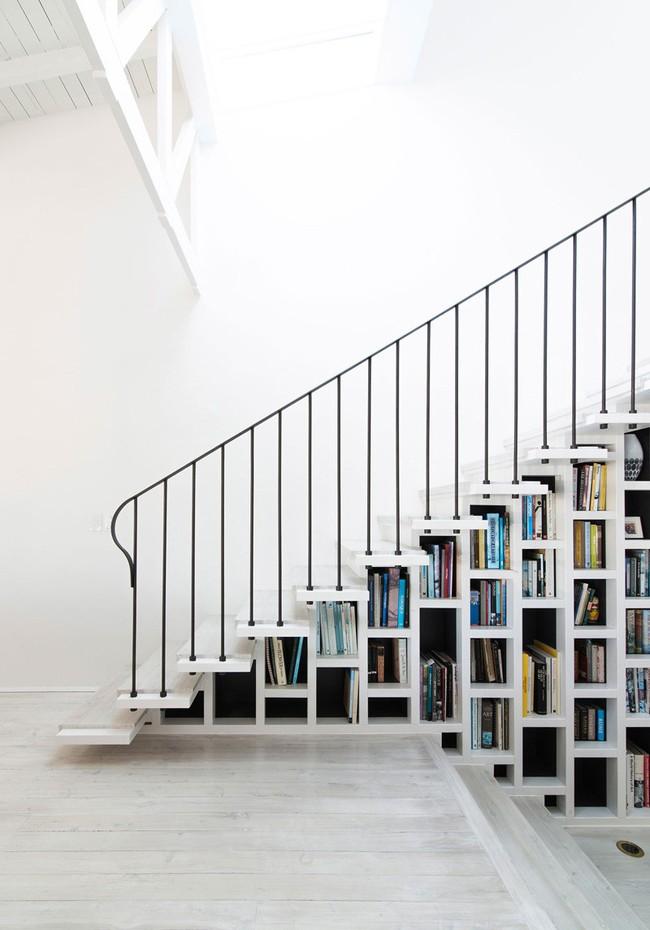 4 mẫu thiết kế cầu thang độc đáo chắc chắn bạn chưa từng được thấy - Ảnh 14.