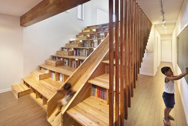 4 mẫu thiết kế cầu thang độc đáo chắc chắn bạn chưa từng được thấy - Ảnh 18.