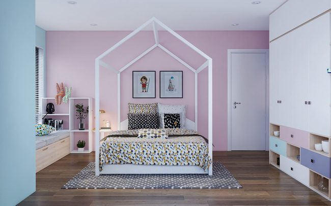 9 mẫu phòng ngủ cho bé đẹp không tì vết khiến người lớn cũng phải ghen tị - Ảnh 14.