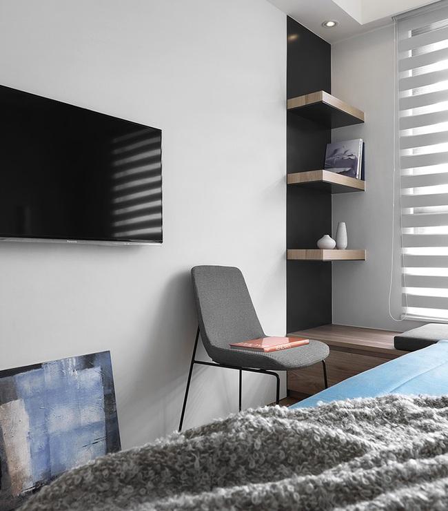 Ngỡ ngàng với cách chọn màu trung tính khiến căn hộ nhỏ trở nên đẹp thanh lịch và cá tính - Ảnh 10.