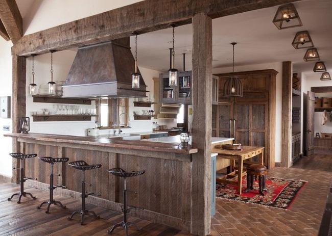 3 chất liệu tốt nhất các chuyên gia khuyên dùng cho nhà bếp theo phong cách đồng quê
