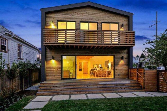 Được xây ở vùng thôn quê nhưng ngôi nhà này hiện đại gấp vạn lần những ngôi nhà trên thành phố - Ảnh 4.