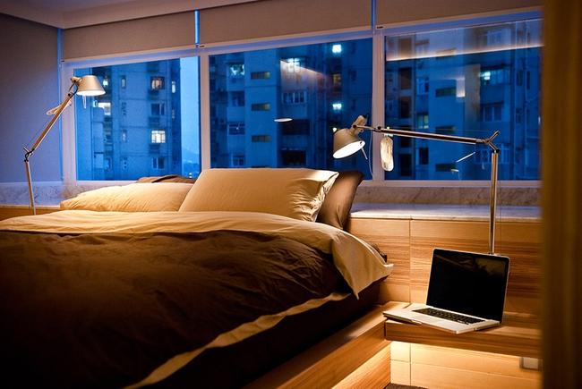 Ghé thăm căn hộ cao cấp vô cùng sang chảnh với sự kết hợp hài hoà giữa gỗ và ánh sáng - Ảnh 6.
