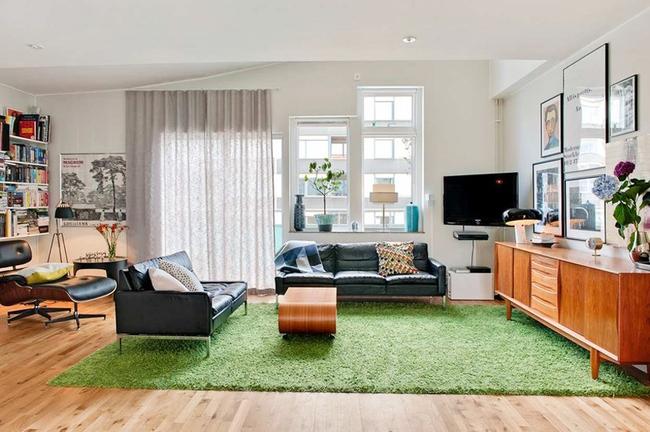 Căn hộ hai tầng đẹp tinh tế và hiện đại với phong cách tối giản - Ảnh 3.