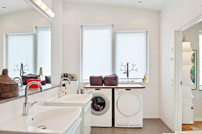 Căn hộ hai tầng đẹp tinh tế và hiện đại với phong cách tối giản - Ảnh 10.