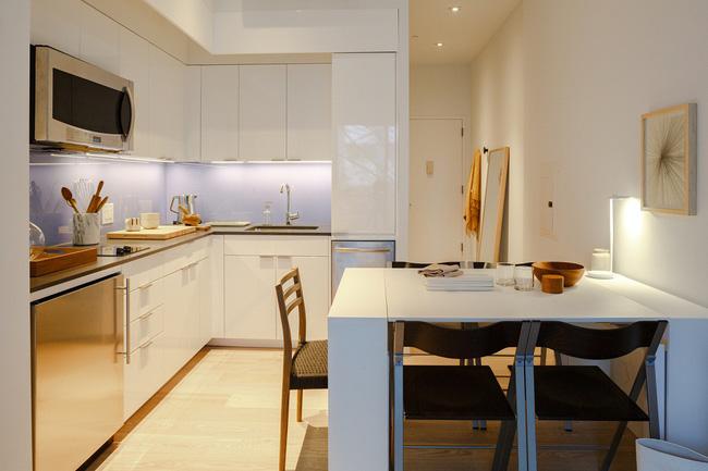Căn hộ chung cư có diện tích chỉ khoảng 16m² nhưng không thiếu một khu vực chức năng nào mà lại còn đẹp đến ngẩn ngơ - Ảnh 5.