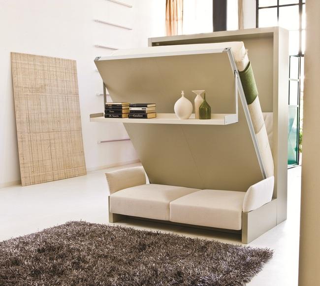 Căn hộ chung cư có diện tích chỉ khoảng 16m² nhưng không thiếu một khu vực chức năng nào mà lại còn đẹp đến ngẩn ngơ - Ảnh 8.