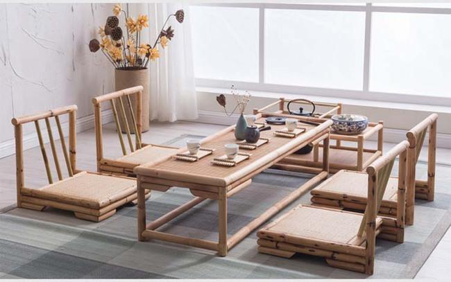 Ngắm nhìn những bộ bàn ghế với chất liệu mây tre đan quen thuộc nhưng đẹp đến bất ngờ - Ảnh 6.