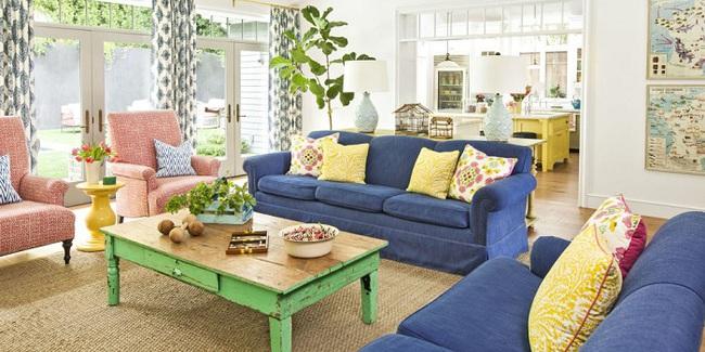 Nếu muốn biến ngôi nhà của bạn rực rỡ đầy màu sắc thì hãy học tập cách làm ngay dưới đây - Ảnh 1.