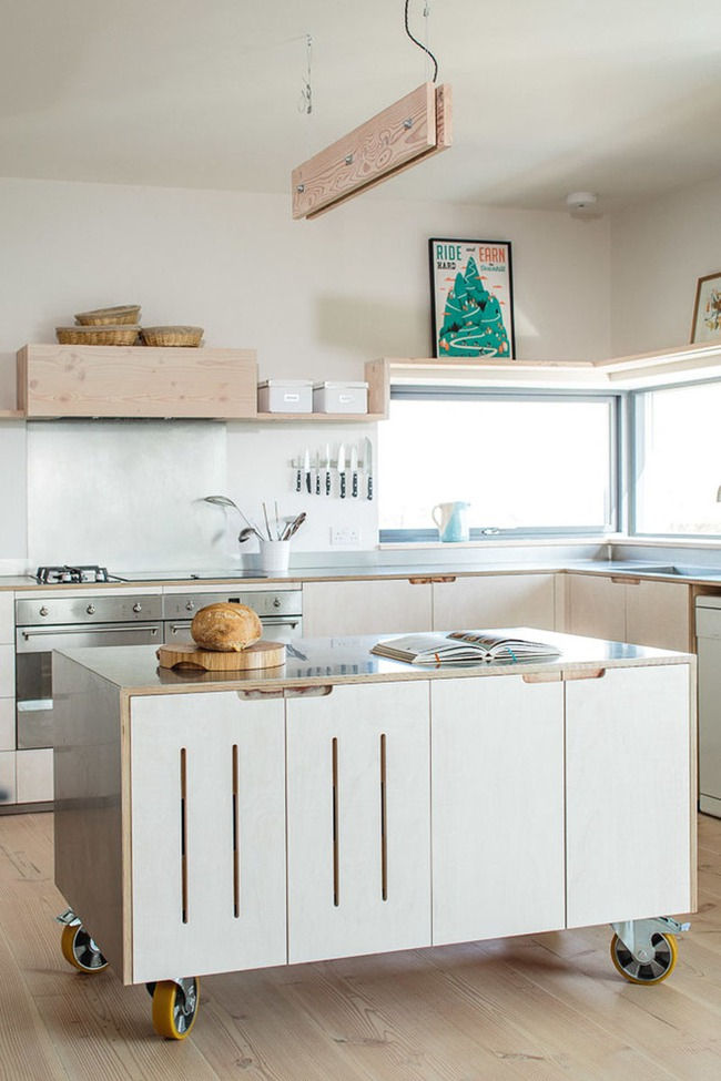 Muốn sở hữu một căn bếp hiện đại thì chẳng thể thiếu được kiểu đảo bếp này - Ảnh 1.