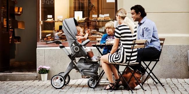 Stokke Xplory - Chiếc xe đẩy chạm đến mọi khát khao của các mẹ bỉm sữa - Ảnh 6.