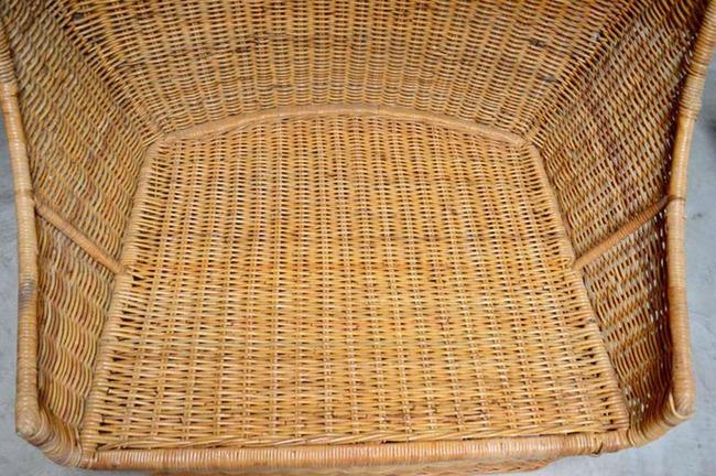 10 mẫu ghế thư giãn bằng chất liệu mây tre đan đẹp kinh điển của những thập niên trước - Ảnh 9.
