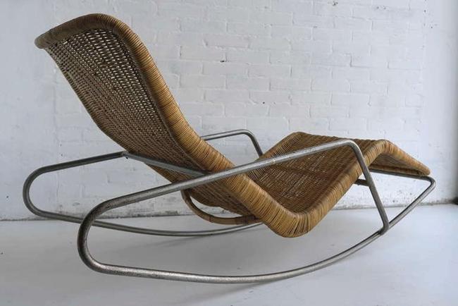 10 mẫu ghế thư giãn bằng chất liệu mây tre đan đẹp kinh điển của những thập niên trước - Ảnh 13.