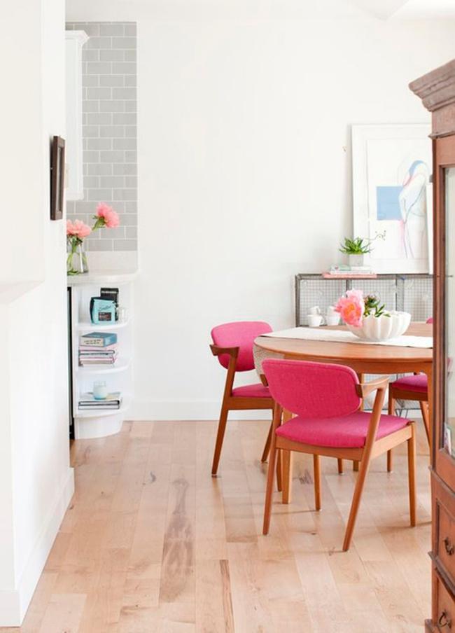 Gợi ý thiết kế phòng ăn đẹp lãng mạn khiến bạn nhìn là yêu - Ảnh 1.