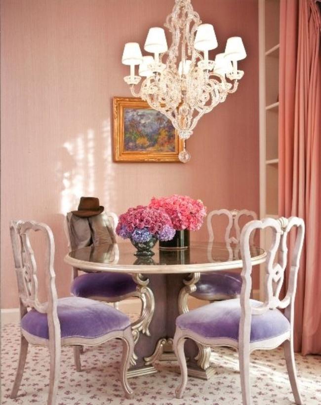 Gợi ý thiết kế phòng ăn đẹp lãng mạn khiến bạn nhìn là yêu - Ảnh 2.