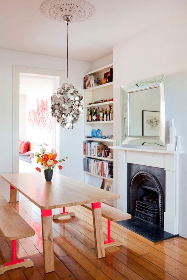Gợi ý thiết kế phòng ăn đẹp lãng mạn khiến bạn nhìn là yêu - Ảnh 3.