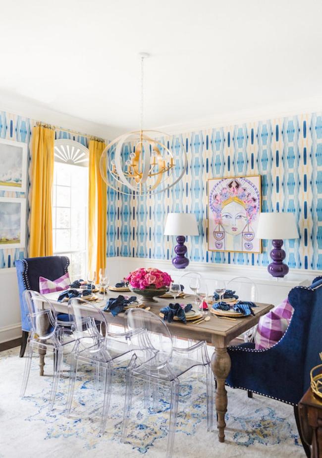 Gợi ý thiết kế phòng ăn đẹp lãng mạn khiến bạn nhìn là yêu - Ảnh 4.