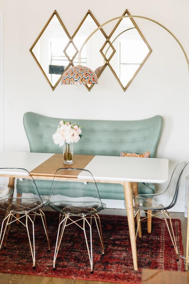 Gợi ý thiết kế phòng ăn đẹp lãng mạn khiến bạn nhìn là yêu - Ảnh 6.