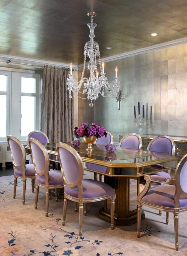 Gợi ý thiết kế phòng ăn đẹp lãng mạn khiến bạn nhìn là yêu - Ảnh 8.