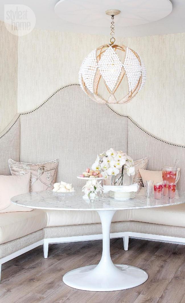 Gợi ý thiết kế phòng ăn đẹp lãng mạn khiến bạn nhìn là yêu - Ảnh 10.