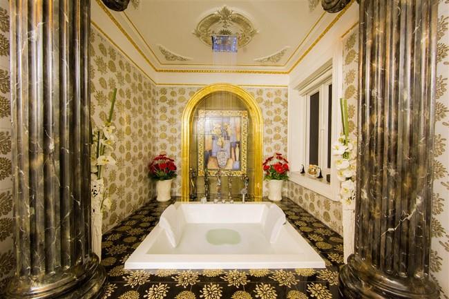 Ngắm trọn vẹn biệt thự triệu đô dát vàng xa hoa theo phong cách hoàng gia của Lý Nhã Kỳ - Ảnh 17.