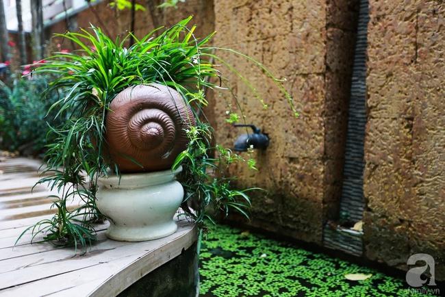 Biệt thự sân vườn sở hữu những khoảng xanh đẹp đến từng chi tiết của vợ chồng KTS ở Hà Nội - Ảnh 6.