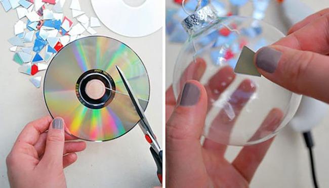 đĩa CD cũ