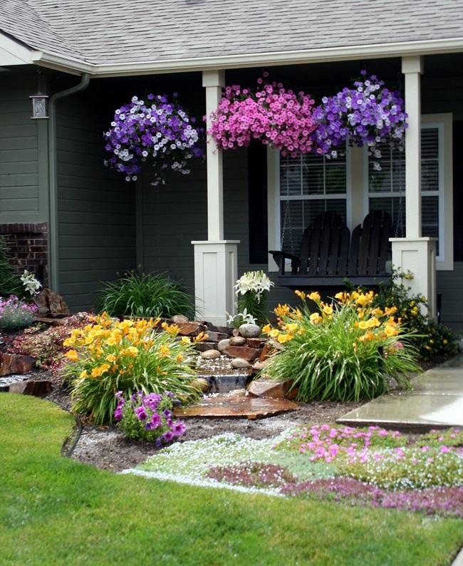 Sân vườn nhỏ không thành vấn đề, vẫn có thể xinh lung linh như thế này nhé - Ảnh 6.