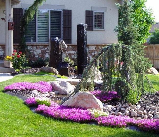 Sân vườn nhỏ không thành vấn đề, vẫn có thể xinh lung linh như thế này nhé - Ảnh 8.
