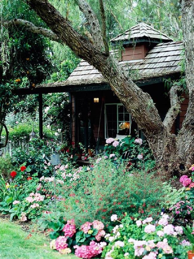 Mách bạn cách trang trí khu vườn trước nhà xinh và ngọt ngào như trong các bộ phim truyền hình lãng mạn - Ảnh 4.