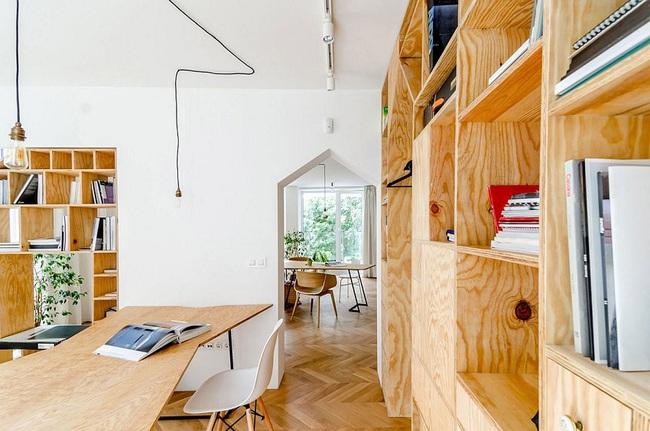 Lấy nội thất gỗ làm điểm nhấn, ngôi nhà này được đánh giá là cực hiện đại và tinh tế - Ảnh 6.