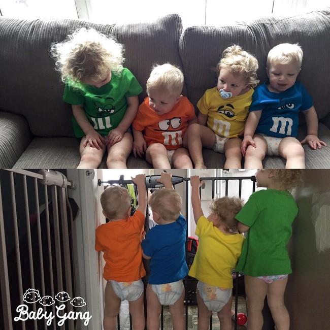 Thán phục bà mẹ siêu nhân tay nhanh thoăn thoắt chăm 1 cặp sinh ba và nhóc lớn 3 tuổi - Ảnh 8.